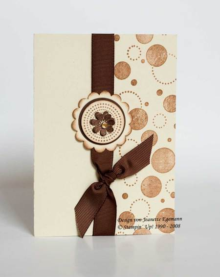 Karte Seeing Spots Stampin Up