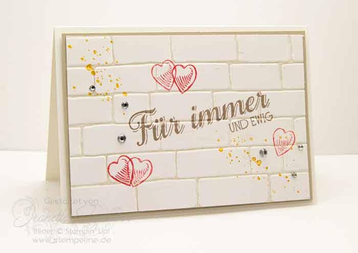 Stampin up Karten Hochzeit