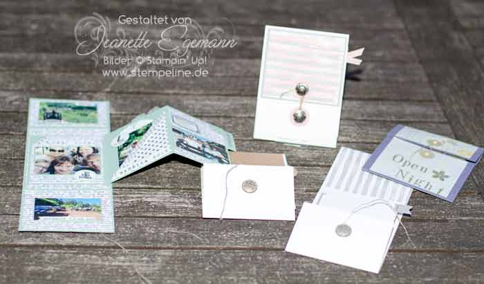 Stampin Up Minialben