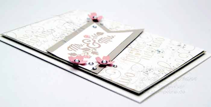 Stampin up Hochzeitskarten For the new Two