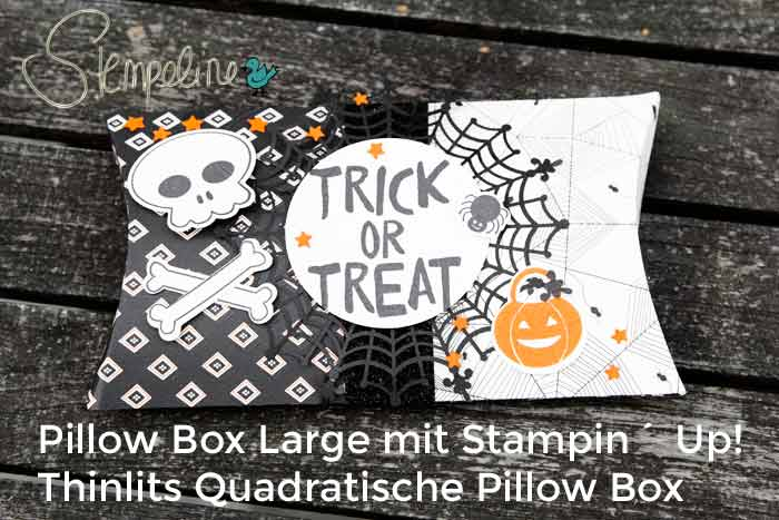 Big Shot Stanzen Pillow Box Large