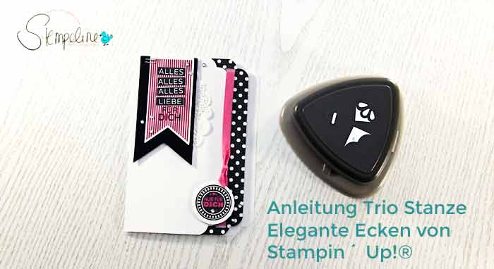 Stampin Up Trio Stanze Video Anleitung