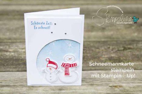 Weihnachtskarten mit der Big Shot