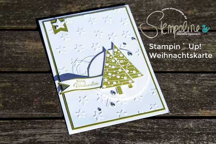 stampin up weihnachten weihnachtskarte video