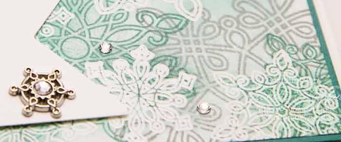 Flockenzauber Weihnachtskarten Stampin Up