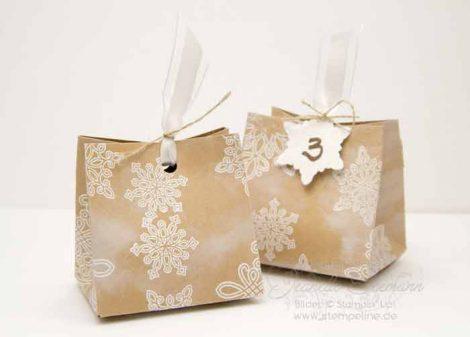 Stanz und Falzbrett für Geschenktüten von Stampin Up