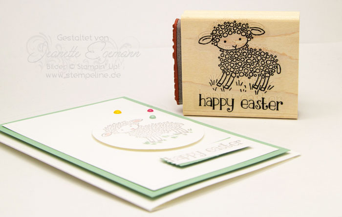 Easter Lamb Stampin Up Osterkarten