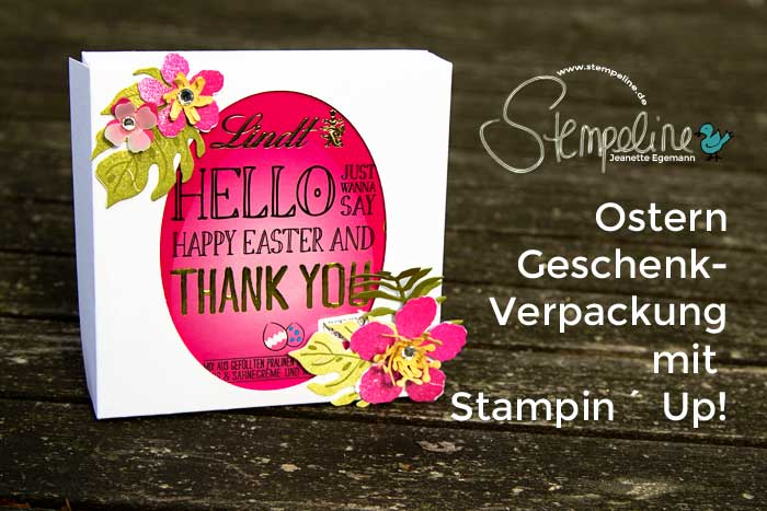 Stampin Up Ostern 2016 Verpackung Anleitung
