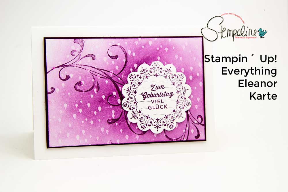 Stampin Up Everything Eleanor Video