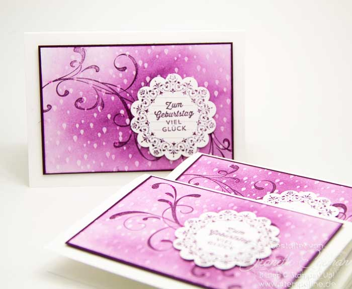 Stampin up Everything Eleanor Karte