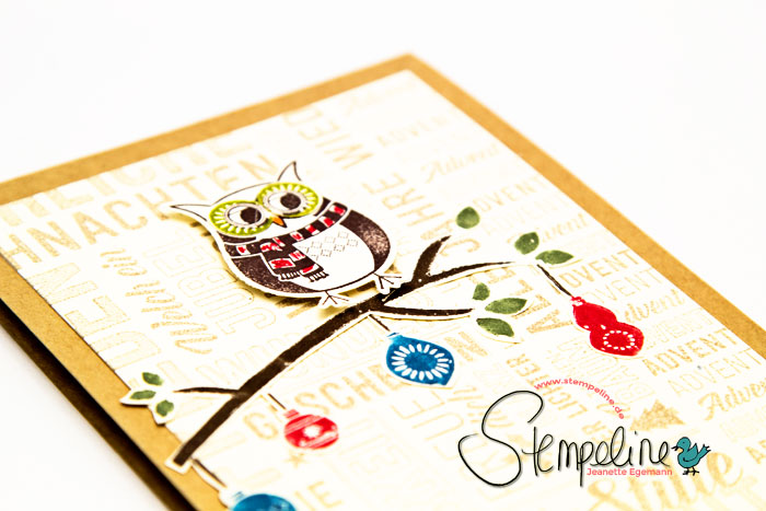 Cozy Critters Stampin Up