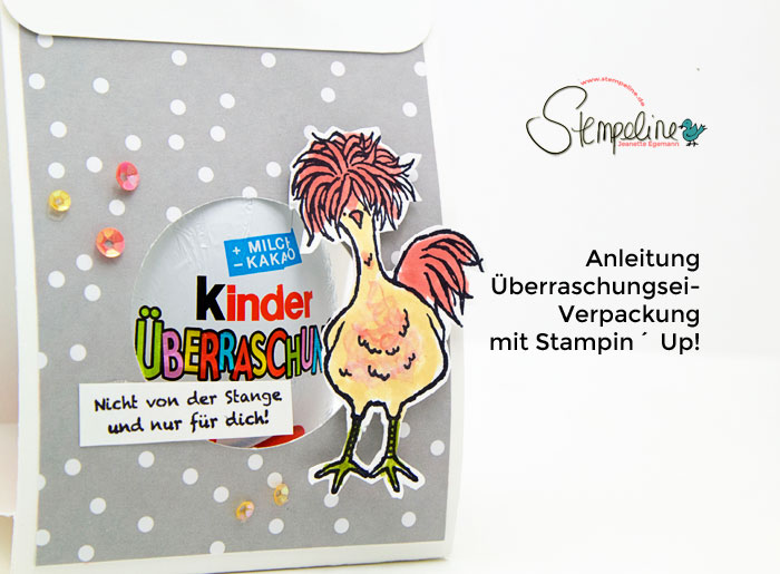 Überraschungsei-Verpackung Stampin Up