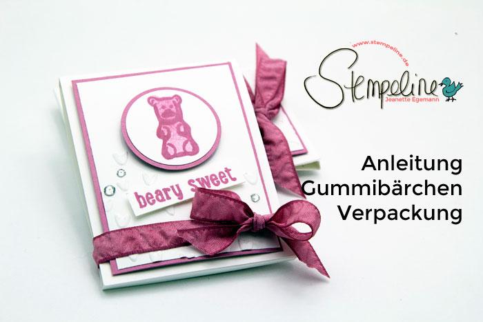 Anleitung Gummibärchen Verpackung