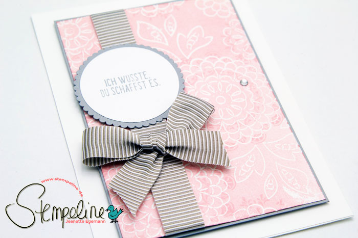 Mein Medaillon Stampin up