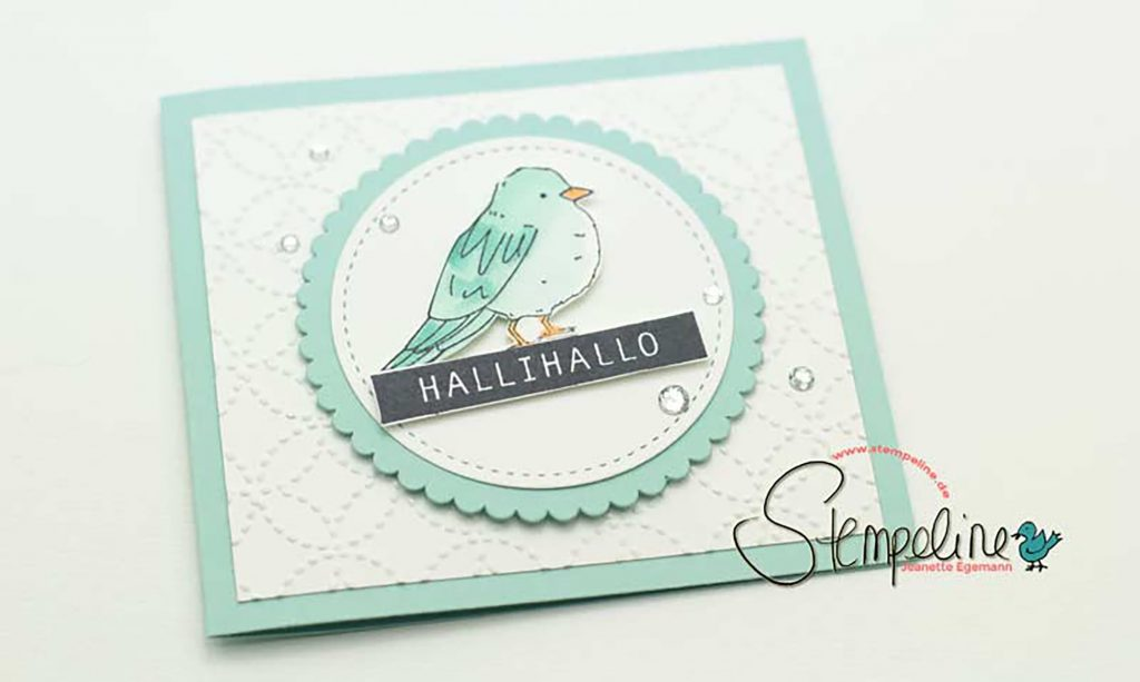 Karte Farbenfroh Stampin' Up!