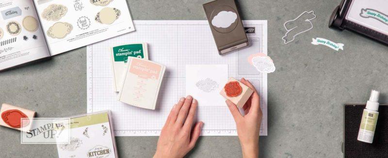 neue Produkte aus dem Stampin Up Katalog 2017 - 2018