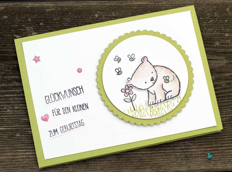 Glückwunschkarte Zum Kindergeburtstag Mit Tierischen