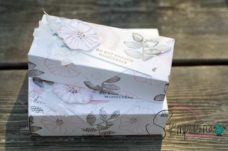 Envelope Punch Board Box für Erfrischungsstäbchen