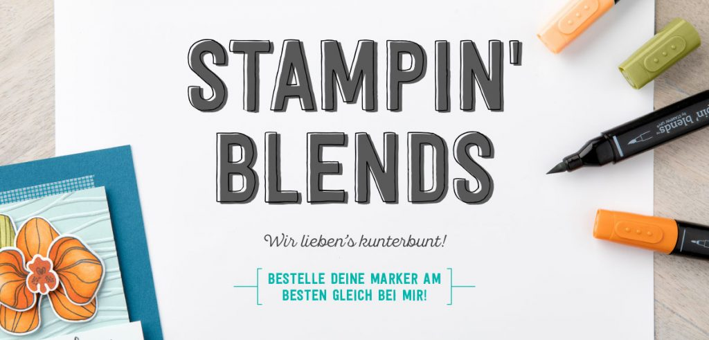 Stampin´ Blends Stampin' Up!