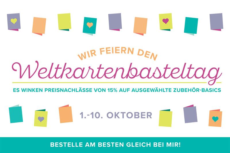 Banner Weltkartenbasteltag Angebote Stampin Up