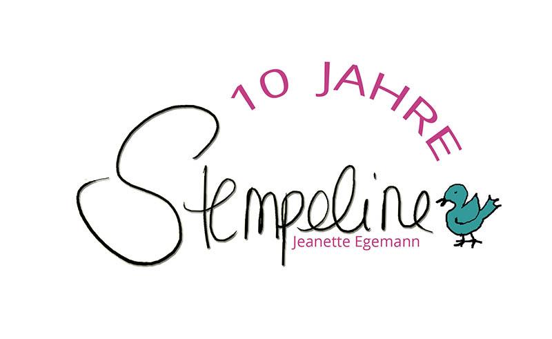 Banner 10 Jahre Stempeline