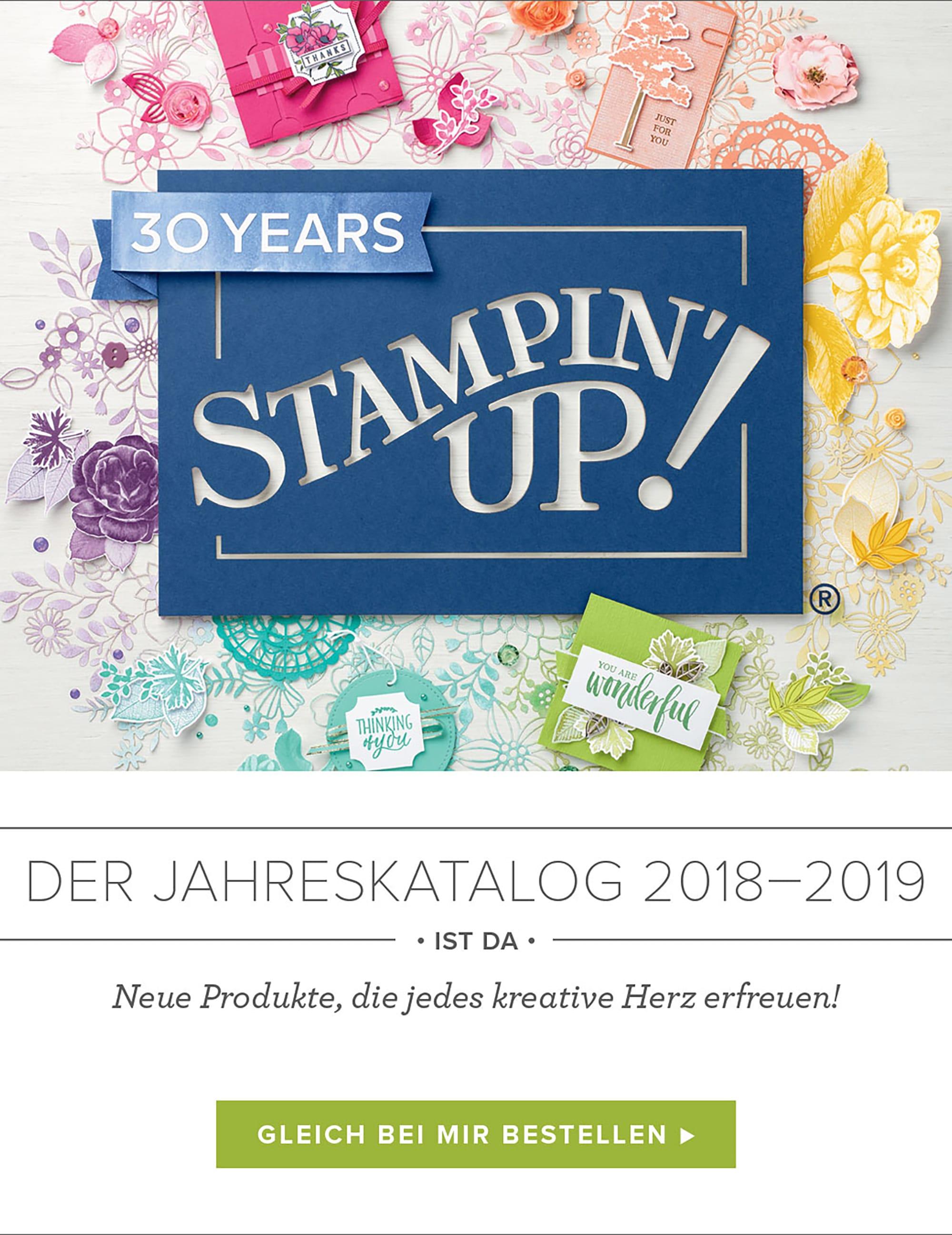 Stampin' Up! Jahreskatalog 2018-2019