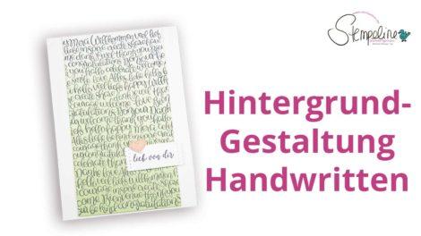 Handwritten-Stampin-up
