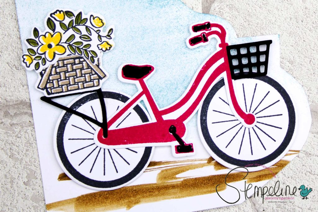 Bike Ride Karte Stampin' Up!