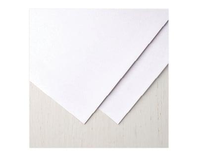 Samtpapier-weiss