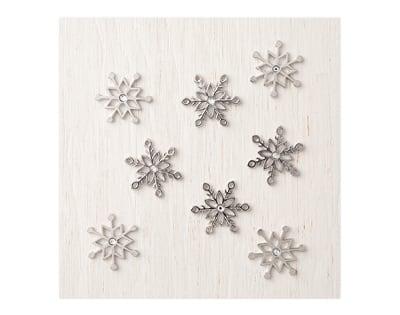 metall-Accessoires-Schneeflocke