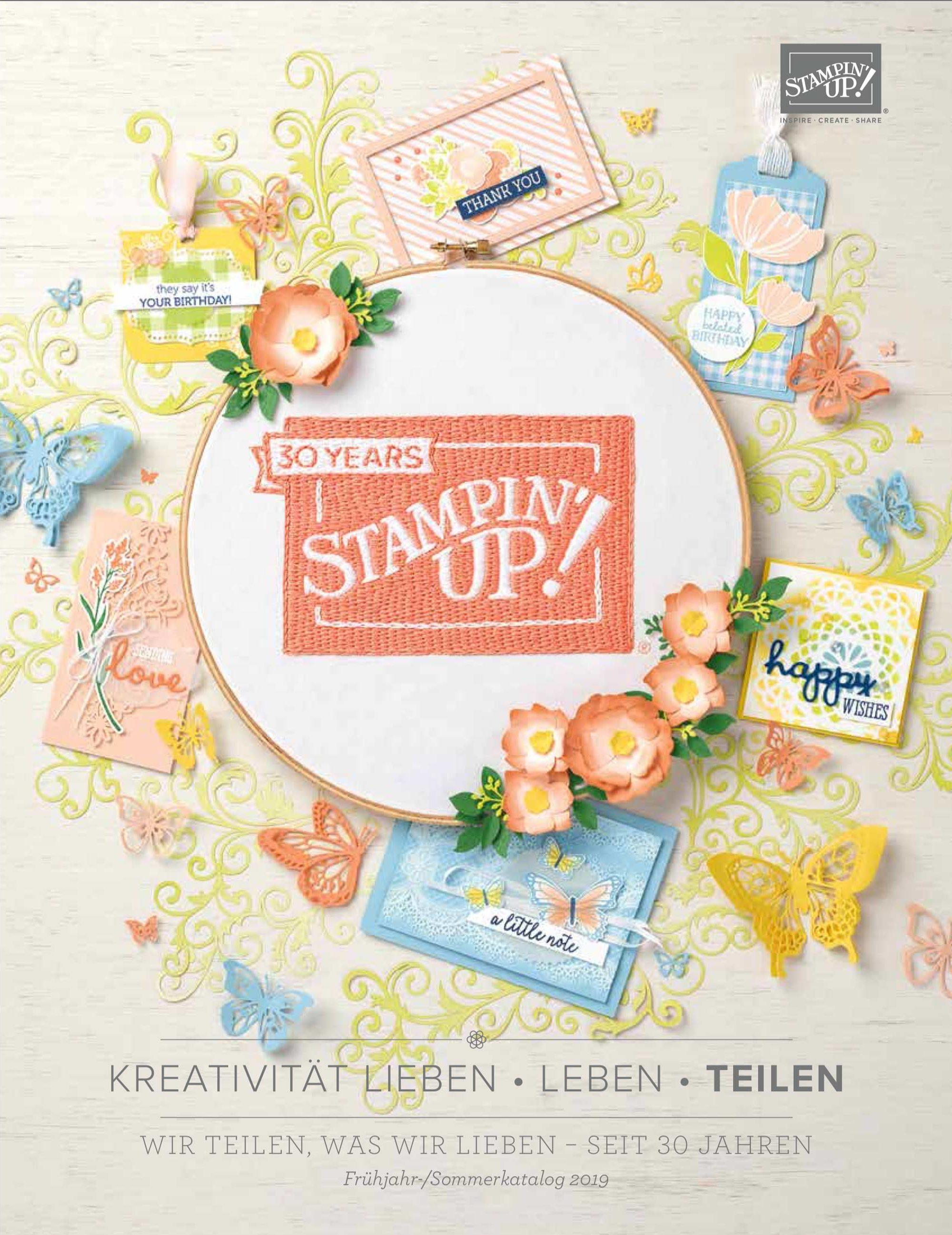 Frühjahr-Sommer Katalog 2019
