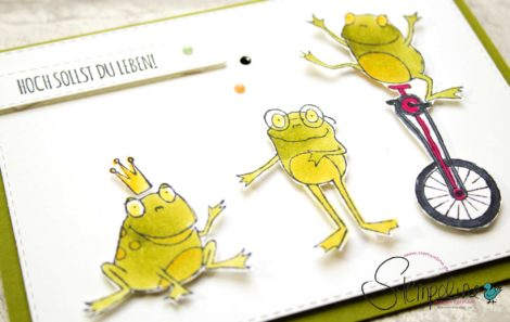 Froschkönig Sale-A-Bration Stampin' Up!