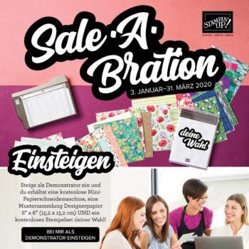 Zur Sale-A-Bration 2020 einsteigen
